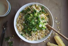 Quinoa Chowder with Spinach, Feta, and Scallions — Punchfork   Food ...