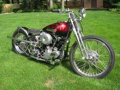 1947 Harley-Davidson FL Knucklehead Bobber (Naples,). Motorcycles