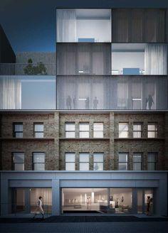 141-145 Curtain Road, Shoreditch, East London Duggan Morris Archtiects