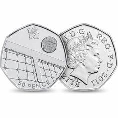 2012 Olympics Tennis 50p - Credit: Royal Mint