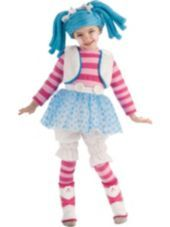 Girls Deluxe Lalaloopsy Fluff N Stuff Costume - Party City