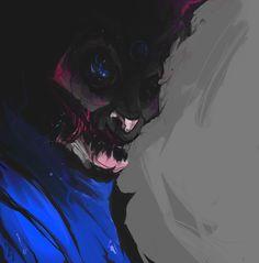 Robot ghost / Human host, Gergo Pocsai on ArtStation at https://www.artstation.com/artwork/BJox8
