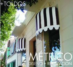 Toldos a medida para Jackie Smith, en Palermo. Palermo, Neon Signs, Interior Design