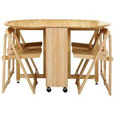 μικρό πτυσσόμενο τραπέζι κουζίνας και καρέκλες φωτογραφία - 6