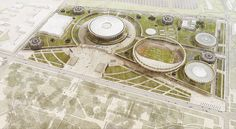 Complex of track and field arenas Track And Field, Business, Modern, Projects, Trendy Tree, Track, Tile Projects
