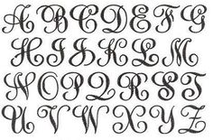 Sydney Large Embroidery Fonts | Apex Embroidery Designs, Monogram Fonts & Alphabets