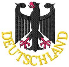 Animals Embroidery Design: Deutschland from Grand Slam Designs
