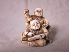 Online veilinghuis Catawiki: Antieke ivoren netsuke - Japan - ca. 1920