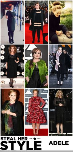 Adele, you either love her or you ...., no, that's it, just love her, there's nothing else <3 <3 <3