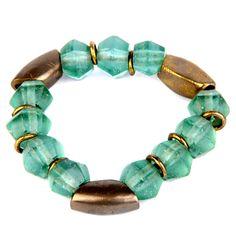 Green sea glass with solid brass.Juju art jewelry bracelet collection. #bracelet #brass #fashion #jade #pearl #stone #jewelry #womenfashion #fairtrade #creation #design #shell #motherofpearl #paua #abaloneshell #semiprecious #glass