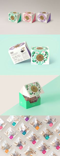 Tea Branding and Packaging: 46 Innovative and Delightful Designs La Fidelia Identity Luxury Packaging, Coffee Packaging, Brand Packaging, Gift Packaging, Design Packaging, Innovative Packaging, Tea Design, Tea Brands, Tea Box