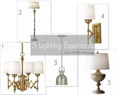 lightingessentials 5 Lighting Essentials Cool Lamps, Lamp Design, Things To Buy, Home And Living, Floor Lamp, Northern Canada, Essentials, Chandelier, Table Lamp