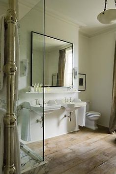Image result for mirror rose uniacke Modern Bathroom Design, Bathroom Interior Design, Interior Ideas, Bath Design, Bathroom Designs, Rose Uniacke, Home Decoracion, Bathroom Inspiration, Bathroom Ideas