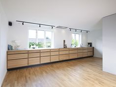 """Ballpark cabinetry costs  We are often asked """"How much will one of your kitchens cost? It very much depends on how the kitchen is designed and which style. Set Of Drawers, Metal Drawers, Integrated Bins, Kitchen Cost, Handleless Kitchen, Design Your Kitchen, Sweet Home, Design Reference, Kitchens"""