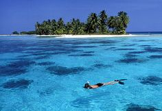 Laughing Bird Caye Belize - snorkled here -cool place