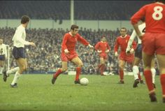 Ian Callaghan in action against Spurs in 1968. #LFC