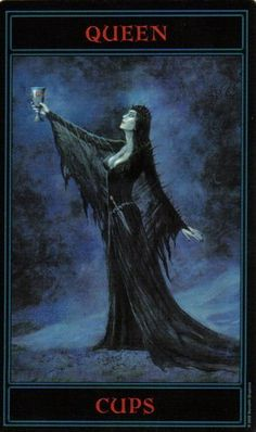 The Gothic Tarot: Queen of Cups