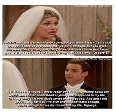 "And finally, when they had the most perfect vows that perfectly summed up their relationship: 20 Times That Cory And Topanga From ""Boy Meets World"" Proved To Be The Ultimate Couple Teamwork Quotes, Leader Quotes, Leadership Quotes, Cover Quotes, Tv Quotes, Yearbook Quotes, Deep Quotes, Life Quotes, Boy Meets World Quotes"