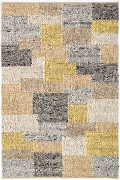 Patchwork Patterns, Patchwork Rugs, Underfloor Heating, Shades Of Yellow, Pattern Fashion, New Zealand, Hand Weaving, Africa, Wool Rugs