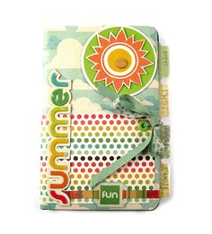 Summer Fun featuring the new Tab Punches from We R Memory Keepers - Scrapbook.com