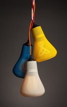 LIGHTING DESIGN printed lamp shades by Plumen and Italian printing design specialist, Formaliz Interior Lighting, Lighting Design, Interior Doors, Modern Lighting, Lighting Ideas, Design Shop, Print Design, Lampe 3d, Design Innovation
