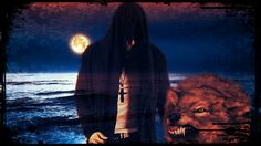 I can feel the Moon  to sea it crawl  Luminance behind the cloud fall in swoon   and the wolf start to howl...
