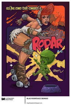 © BLAS RODRÍGUEZ (BONGO) | Ilustración para la muestra Roller Derby de Ilustradores Argentinos | #rollerderby | Fotos: https://www.facebook.com/media/set/?set=a.725585730870003.1073741832.100296976732218&type=1