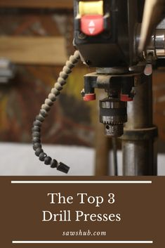 Discover the best cheap drill press under $200 in our comprehensive woodworking review. Use this DIY tool for drilling, mortising, square holes, and spindle sanding. #sawshub #drillpress #cheaptool #woodworking Diy Indoor Furniture, Pallet Furniture Plans, Diy Furniture Projects, Woodworking Projects Diy, Woodworking Plans, Art Projects, Homemade Tables, Build Your Own House, Drill Press