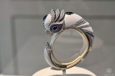 """Boucheron Parroquet bracelet, """"Bleu de Jodhpur"""" high jewellery"""