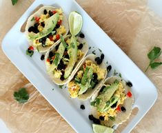 Southwestern Breakfast Tacos ‹ Hello Healthy