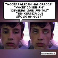 Eu e o:  Pedro Gomes (soh a hevelyn fala isso) Vinicius (ainda acho que ele eh gay)