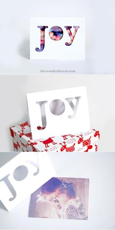 Cut-Out DIY Christmas Card | Homemade Christmas cards never looked so good!