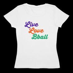 Basketball Live Love Bball shirt
