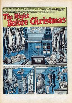 Will Elder ec comics | Will Elder provided the art for this twisted take on 'Twas the Night ...