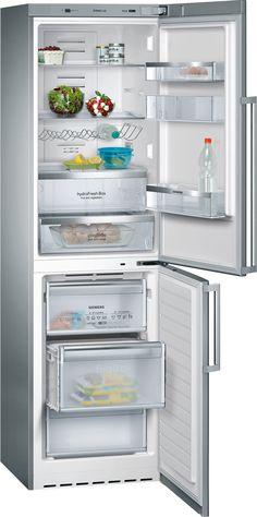 Alimentos más duraderos con el frigorífico Siemens hidroFresh