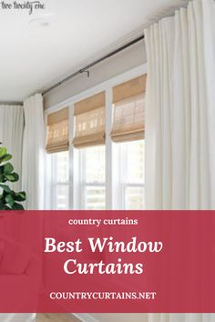 Country Curtains Bedroom Curtains, Window Curtains, Country Curtains, Interior Decorating, Interior Design, Roller Blinds, Soft Furnishings, Curtain Rods, Shutters