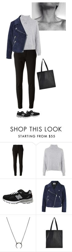 """""""#166"""" by ceciliefang ❤ liked on Polyvore featuring Gucci, Topshop, New Balance, Acne Studios and Isaac Reina"""