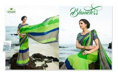 Go stylish this season with beautiful Ethnic wears! This Superb Multicolor Saree will make you look Flawless, and that's for sure.