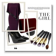 """Untitled #4"" by munira-968 ❤ liked on Polyvore featuring Yves Saint Laurent, Adrianna Papell, Whiteley and Kershaw"