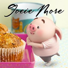 Good Morning Good Night, Day For Night, Good Morning Quotes, This Little Piggy, Little Pigs, Lekker Dag, Cap Cake, Pig Wallpaper, Cute Piglets