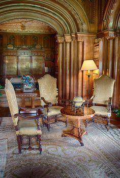Penrhyn Castle library - Google Search