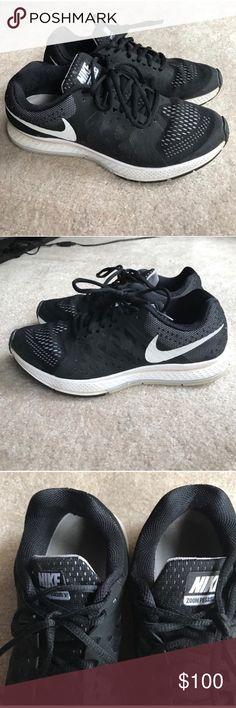 Size 7.5 Nike zoom Pegasus 31 black sneakers Size 7.5 Nike zoom Pegasus 31 black sneakers Nike Shoes Sneakers