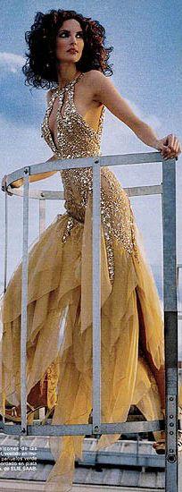 elegant dress.....glitter and glam