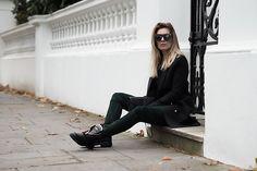 Get this look: http://lb.nu/look/8101926  More looks by Iam Chouquette: http://lb.nu/user/5591826-Iam-Chouquette  Items in this look:  Maniere De Voir Sunglasses, H Mx Balmain Tee, H Mx Balmain Blazer, Saint Laurent Woc, H Mx Balmain Suede Trousers, Balmain Boots   #chic #elegant #formal #hm #balmain #trousers #tee #blazer #sunglasses