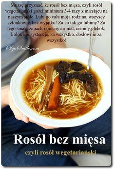Rosół bez mięsa