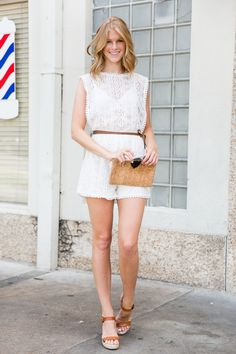 Molly Miller of @apieceoftoast featuring Tory Burch, @jcrew and Ray-Ban