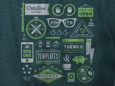 Creative Market 2013 SXSW Shirt