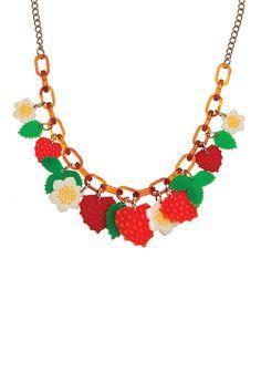 Strawberry Patch Necklace, £125: http://www.tattydevine.com/strawberry-patch-necklace.html