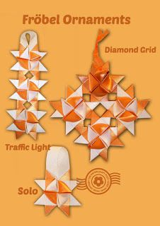 The Papercraft Post: Fröbel Star Connections. Make ornaments - link pocket-to-point! http://thepapercraftpost.blogspot.co.uk/2015/07/frobel-star-connections.html