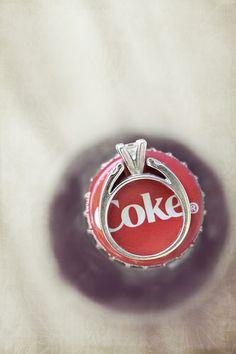 Coca-Cola ring shot